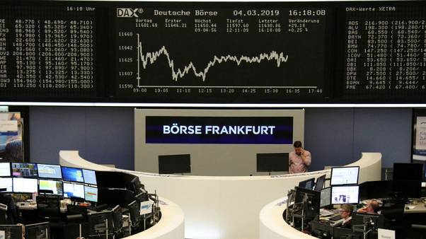 Cocktail of poor data drives European stocks further down