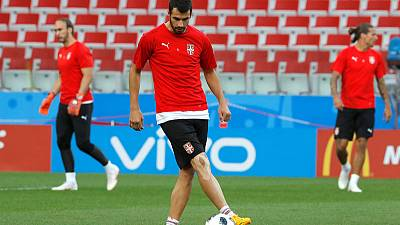Serbia coach Krstajic axes Milivojevic after World Cup row