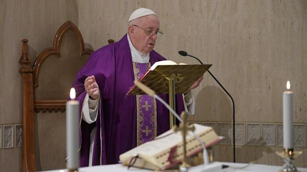 Anti-Semitism part of wave of 'depraved hatred', pope says
