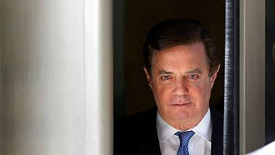Trump says he feels very badly for former campaign chairman Manafort