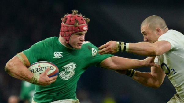 Six nations: l'Irlandais van der Flier préféré à O'Brien face à la France