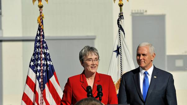 Exclusive - U.S. Air Force Secretary Wilson to resign, eyes return to academia