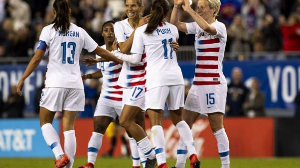 Top women's soccer players sue U.S. Soccer for gender discrimination
