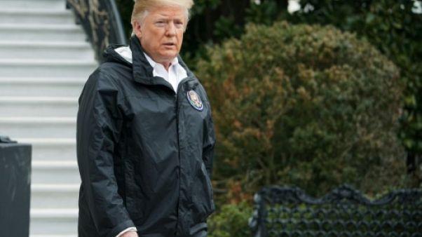Le président américain Donald Trump, à la Maison Blanche, le 8 mars 2019