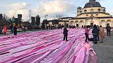 Sciarpa rosa Campania entra nel Guinness