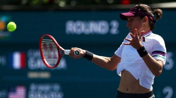 Tennis: Caroline Garcia chute encore face à Jennifer Brady à Indian Wells