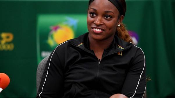 Tennis - Stephens swatted aside by Vogele at Indian Wells