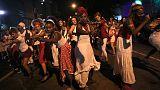 آلاف يتظاهرون في البرازيل في يوم المرأة العالمي
