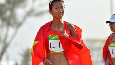 La Chinoise Liu Hong établit un nouveau  record du monde du 50 km marche