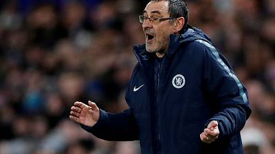 Chelsea ready to take top-four fight down to the wire: Sarri