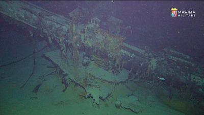 Affondò nel 1942, ritrovato cacciamine