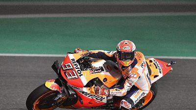 Moto: libere 3 Qatar, dominio Marquez