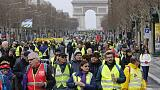 Hundreds march in Paris as childminders join 'yellow vest' protests