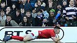 Six nations: le pays de Galles bat l'Ecosse 18-11 et reste en course pour le Grand Chelem