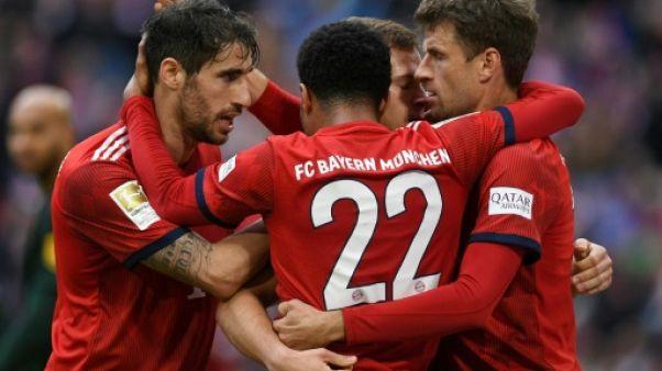 Allemagne: le Bayern Munich détrône Dortmund, en tête depuis six mois