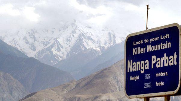 Bodies of Italian, British climbers found on Pakistan's 'Killer Mountain'