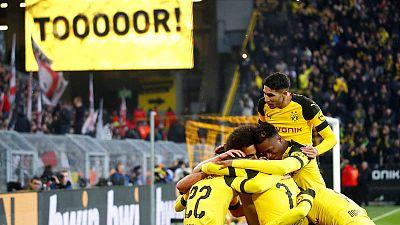 Dortmund drop to second despite 3-1 win over Stuttgart