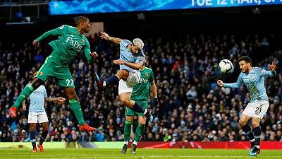 Man City surge clear through Sterling as Spurs suffer