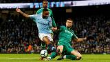 Sterling hat-trick sends Man City four clear of Liverpool