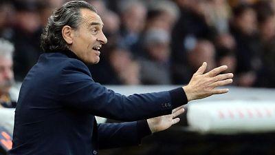 Prandelli:Il Parma non meritava vittoria