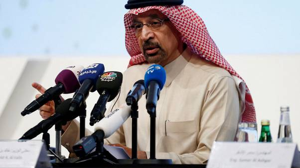 Exclusive - Saudi's Falih says no OPEC+ output policy change until June