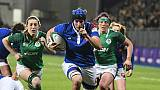 Six nations féminin: la France se régale en Irlande