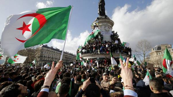 Ailing president returns to Algeria as mass protests swirl