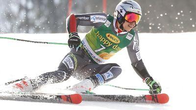 Sci: slalom Kranjska,guida Kristoffersen