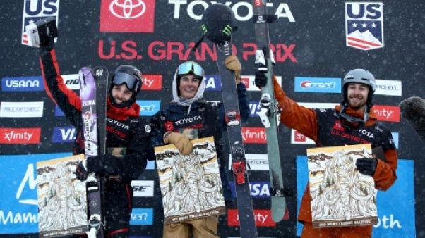 Ski freestyle: Podium pour Krief en halfpipe, 2e globe pour Sharpe