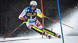 Ski alpin: victoire de Ramon Zenhaeusern sur le slalom de Kranjska Gora