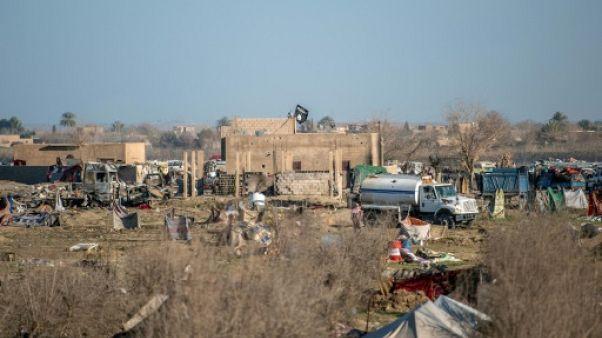 La dernière poche de l'EI en Syrie à portée des forces antijihadistes