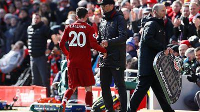 Liverpool's Lallana repays Klopp on rare starting appearance