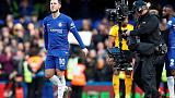 Hazard salvages point for Chelsea in 1-1 draw with Wolves