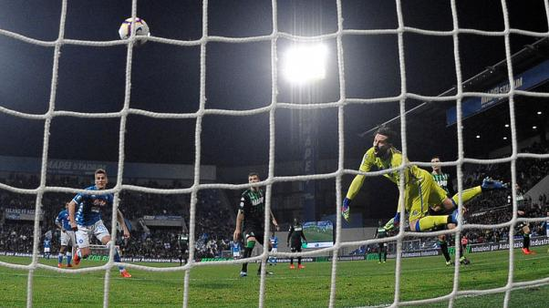 Insigne rescues Napoli from defeat at Sassuolo