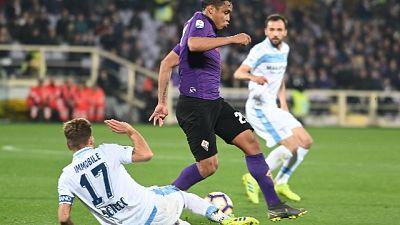 Calcio: Fiorentina-Lazio 1-1