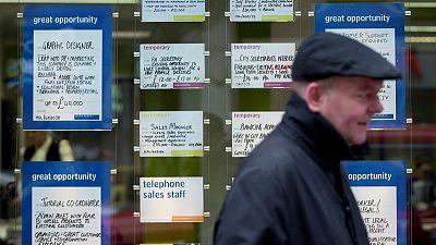Pre-recession signals lurk in UK jobs data - research
