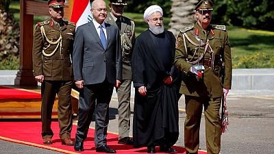 Trade ties in focus as Iran's Rouhani begins first Iraq visit