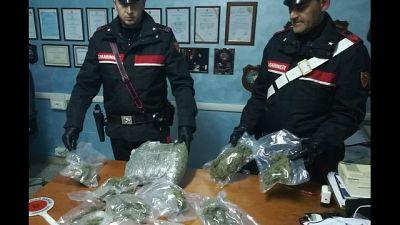 Droga dall'Olanda, 39 arresti