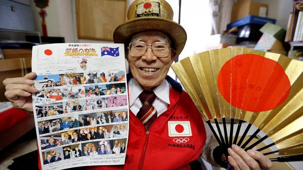 Japan's superfan looks to complete Olympic circle in 2020