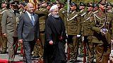 A Bagdad, le président iranien veut resserrer les liens bilatéraux