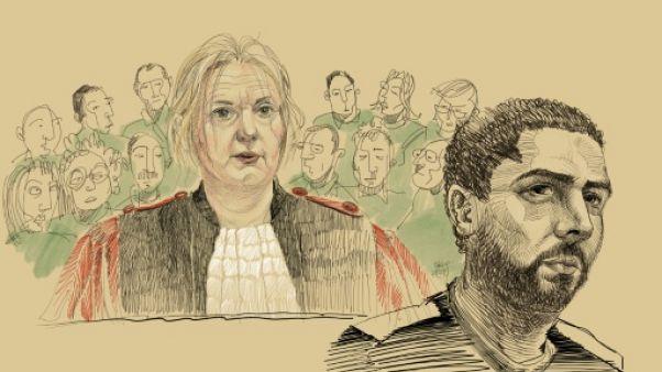 """Prison à vie pour Nemmouche, tueur """"psychopathe"""" sans remords"""