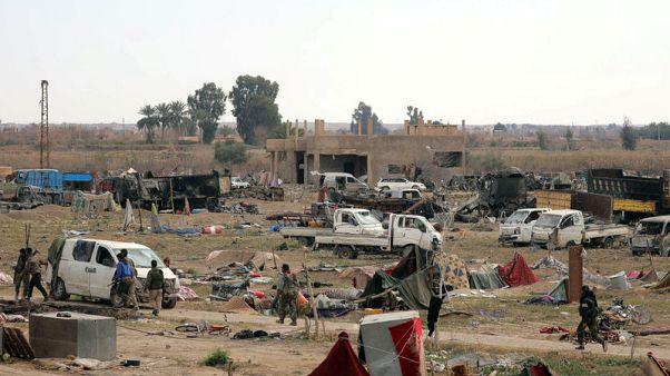 """متحدث: قوات سوريا الديمقراطية تقتل """"العشرات"""" من مقاتلي داعش في الباغوز"""