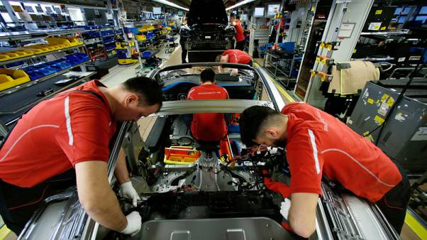 Auto woes drive dip in German industrial output as Brexit nears