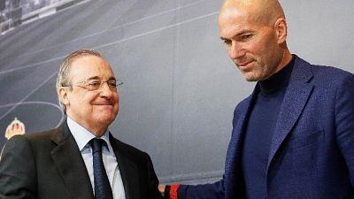 Stampa spagnola, al Real torna Zidane