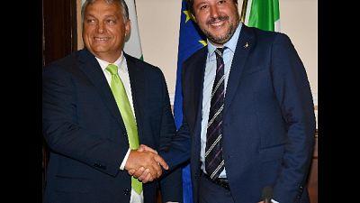 Salvini sente Orban, Ppe non lo espella