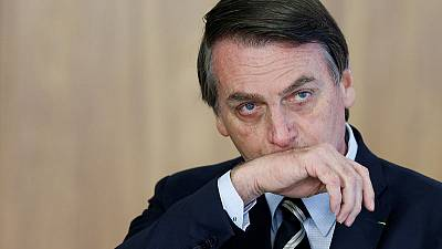 Brazil's Bolsonaro rebuked for false accusation against reporter