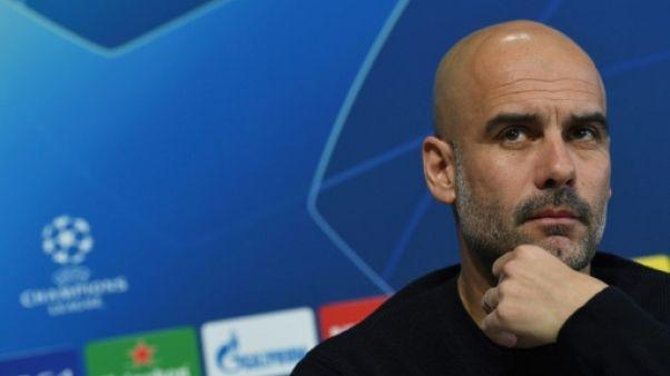 Manchester City: Guardiola pas certain d'être favori en Ligue des champions