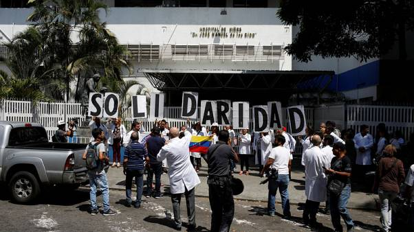 Doctors pray for sick as blackout batters Venezuelan hospitals