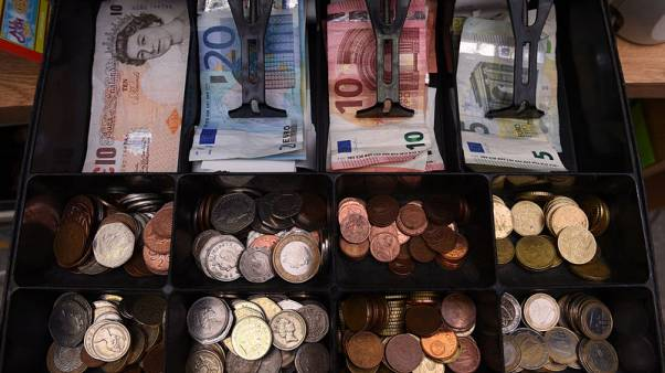 Foreign deposits fall in euro zone banks after money-laundering scandals