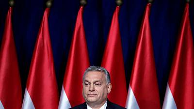Hungary's Orban faces crunch talks in anti-EU dispute